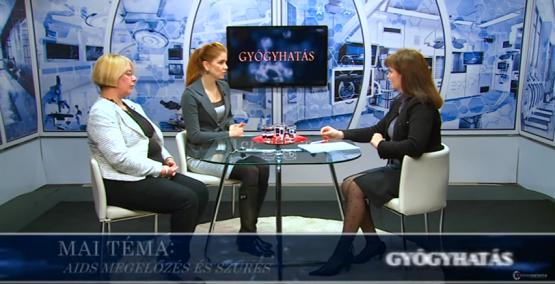Dr. Szandányi Réka és Ackermann Mária válaszol a Hatoscsatorna riporterének a HIV-vel kapcsolatos kérdésekre